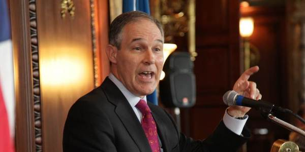 EPA Director Scott Pruitt
