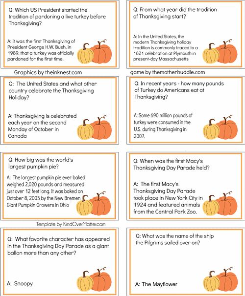 image relating to Thanksgiving Trivia Printable identified as How nicely do on your own realize your Thanksgiving? - WND