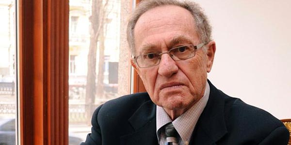 Surprise! Dershowitz 'biggest enemies' not who you think