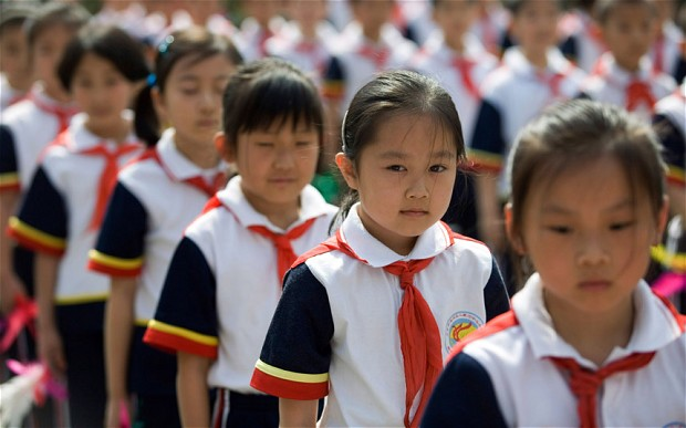 195 million Chinese students are in school. Why...