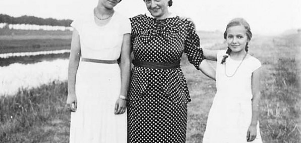 Anita Dittman (right) her mother, Hilde, and sister, Hella, faced violence and oppression during the Holocaust in the late 1930s and '40s.