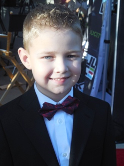 "Connor Corum, star of ""Heaven Is for Real,"" at the 23rd Annual Movieguide Awards"