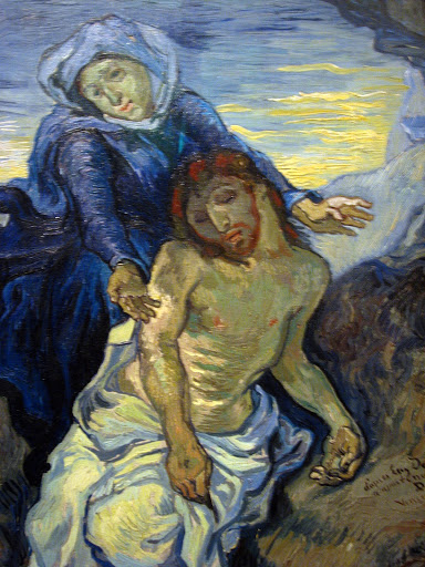 """The Pieta"" by Vincent Van Gogh, 1889"