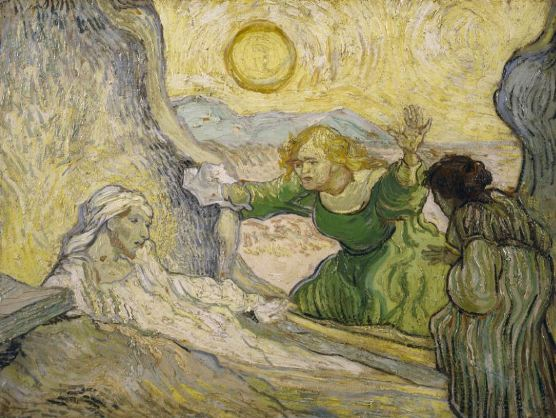 """The Raising of Lazurus"" by Vincent Van Gogh, 1890"