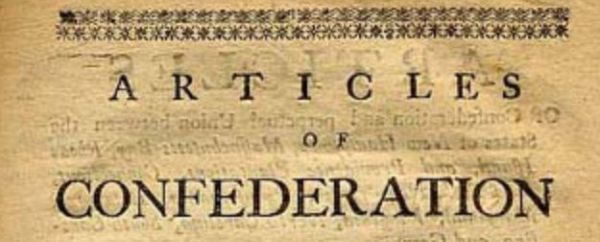 Faith Infused Articles Of Confederation