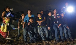 Illegal immigrant children at U.S. Southern border.