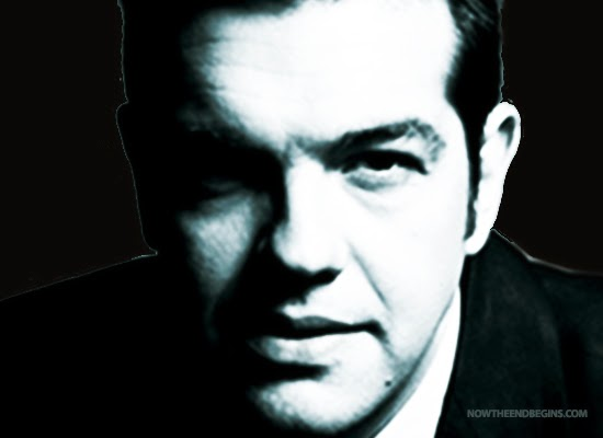 New Greek Prime Minister Alexios Tsipras.