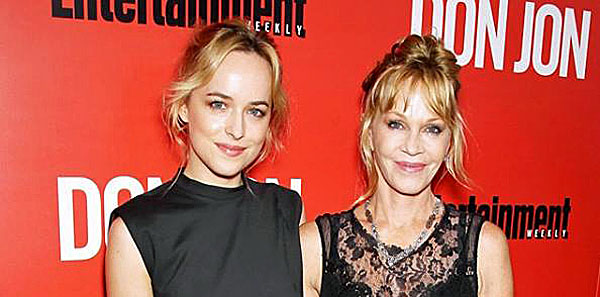 Dakota Johnson and her mother, actress Melanie Griffith