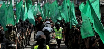 A Hamas parade in Gaza