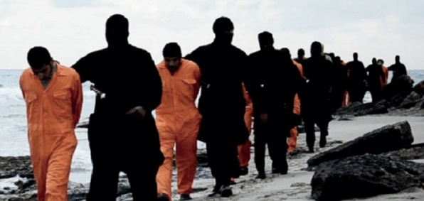 21 Coptic Christians were beheaded by ISIS terrorists