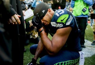 Jermain Kearse after the NFC Championship game (SeattlePI.com)