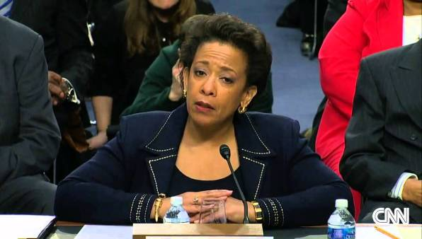 Loretta Lynch testifies before the Senate Judiciary Committee Jan. 28.