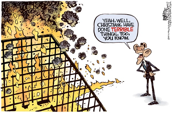 Christians have done terrible things too the conservative wife