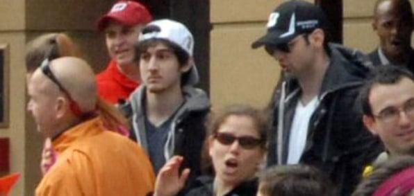 Dzhokhar and Tamerlan Tsarnaev were caught on camera before the Boston Marathon Bombing in April 2013