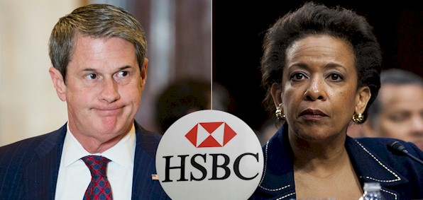 Sen. David Vitter, R-La., and Loretta Lynch