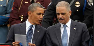 President Obama and Former Attorney General Eric Holder