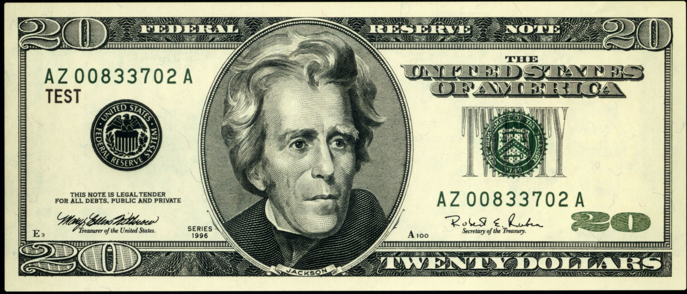 This is a picture of Magic Printable Dollar Bill