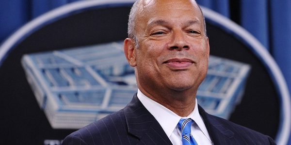 Secretary of the Department of Homeland Security Jeh Johnson