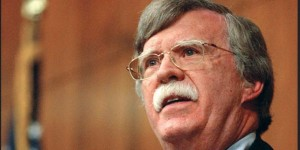 Former U.S. Ambassador to the U.N. John Bolton, who is now national security adviser