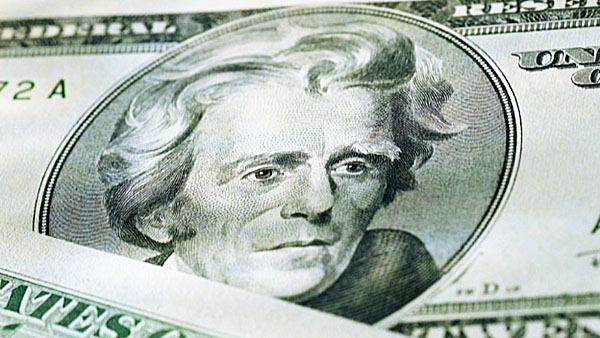 Andrew Jackson's facing his last days on the $20 bill.