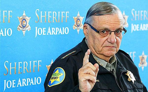 Sheriff Joe, 'Harry Klaypool' team up in defense of police