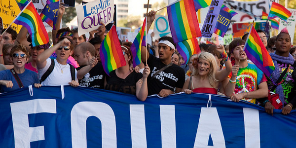 movements fighting for gay marriages essay America is ready for gay marriage  and ended up damaging the abortion-rights movement as a result the court is supposed to be above politics, but justices are leery of foisting sweeping .