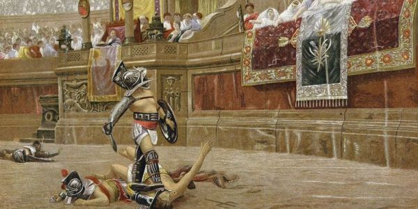 Six words that stopped Roman gladiator battles