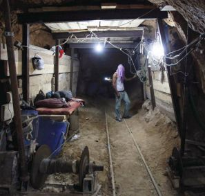 Hamas tunnels. Part of the money diverted from World Vision's Christian donors went to pay for the digging of tunnels from which terrorists launched attacks on Jews inside Israel.