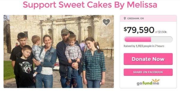 Sweet Cakes GoFundMe page 4-24-15 6.30 pm