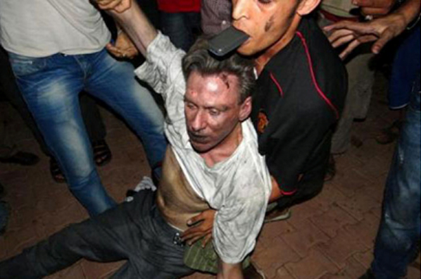 The final moments of American ambassador to Libya, Chris Stephens