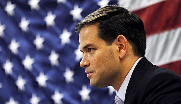 Touring New Hampshire, Marco Rubio Casts Himself as the