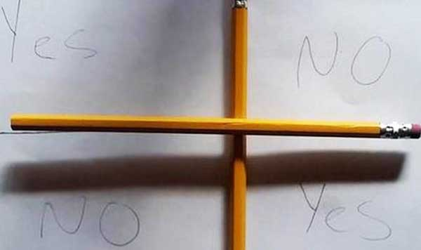 "The so-called ""Charlie Charlie Challenge"" is a cheaper version of a ouija board"