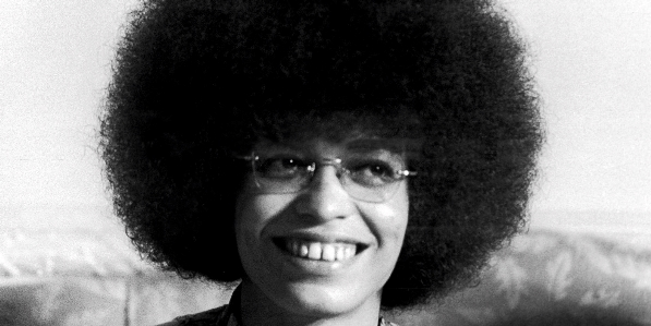 Communist activist Angela Davis in the 1960s.