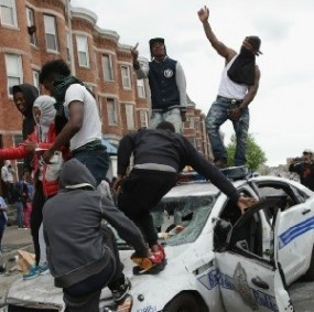 Riots in Baltimore