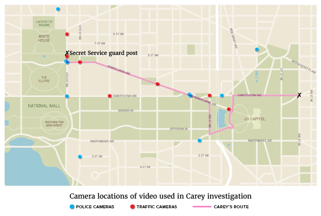 carey camera map