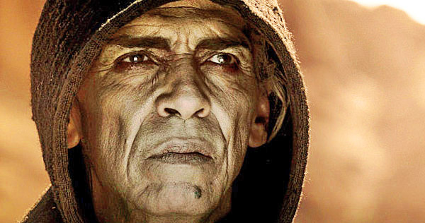 "Satan the devil in ""The Bible"" TV miniseries looked hauntingly familiar to millions."