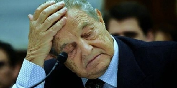 Image result for george soros sad