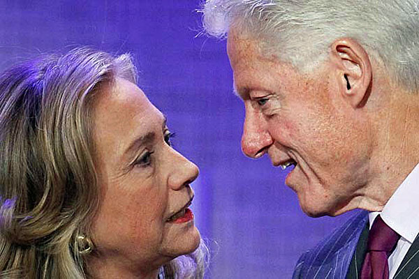 Image result for hillary and bill clinton