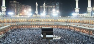Mecca, Saudi Arabia is the spiritual home of Islam