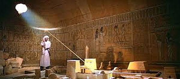 "The film ""Raiders of the Lost Ark"" depicts ""Indiana Jones"" finding the location of the lost Ark of the Covenant in ""The Well of Souls."""