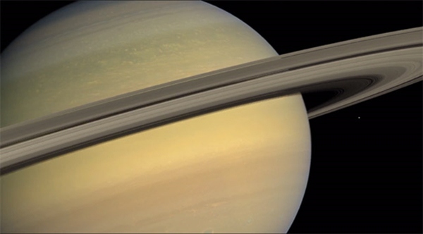 Saturn's rings contain 99.9 percent pure water and ice – 26 million times more water than can be found on Earth