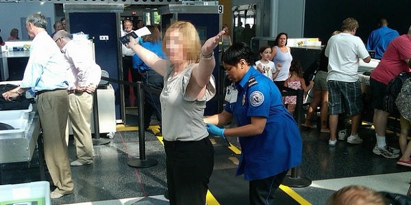 patting down the tsa Airport security just got a bit moreintimate previously, transportation security  administration agents at us airports had the option of using.