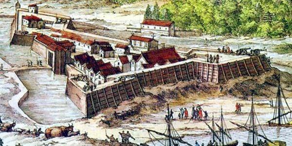 Fort Caroline, Florida, 1564
