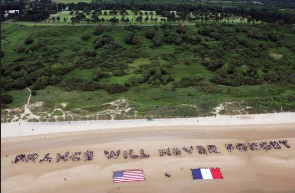 U.S. Embassy France#Today in 1944, 73,000 American forces landed in Normandy on #DDay. 6,603 died - Twitter