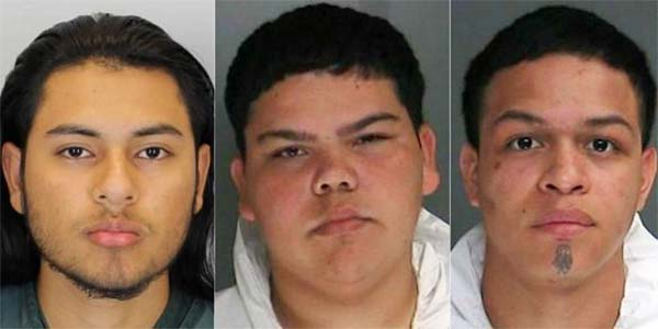 3 Teenage MS-13 Gang members charged with 'Brutally' raping 16-Year-Old girl In New York
