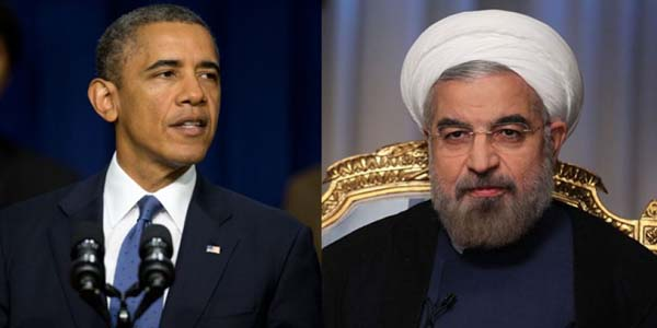President Obama. left, and Iranian Foreign Minister Mohammad Javad Zarif