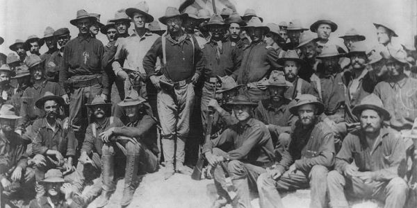 Teddy Roosevelt and the Rough Riders, 1898