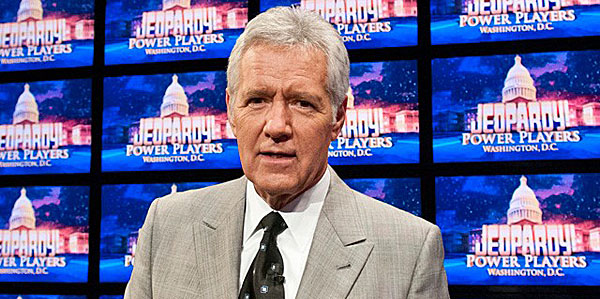 """Jeopardy!"" host Alex Trebek"