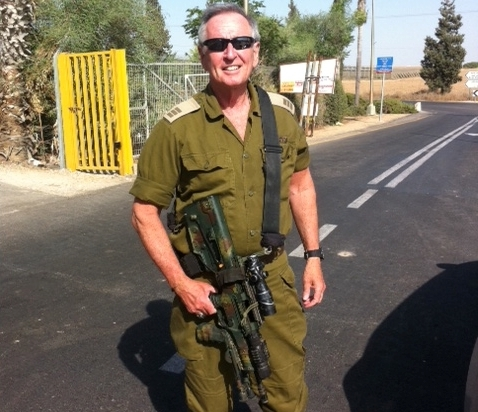 Dan Gordon, author, screenwriter and veteran of six Middle Eastern wars with the IDF.
