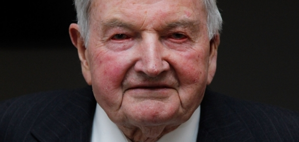 "David Rockefeller, age 101, is still at the forefront of funding globalist policies that encourage open borders. When these policies inevitably cause ""shock"" to cities, his family foundation stands at the ready to help mitigate the problem under the banner of the ""resilient cities"" program."